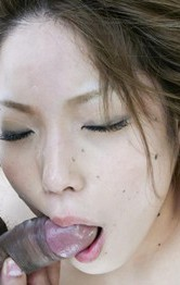 Tsubasa Tamaki is fucked with sucked boner afyer getting vibrator