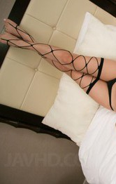 Kanako Tsuchiyo Asian with such erotic body licks dick and balls