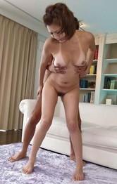 Mai Kuroki Asian sucks dick and is doggy fucked in licked pussy