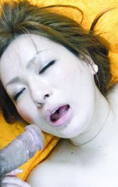Yukina Momose Asian sucks boner and has cunt wet from vibrator